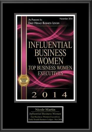 Influential Business Women Award