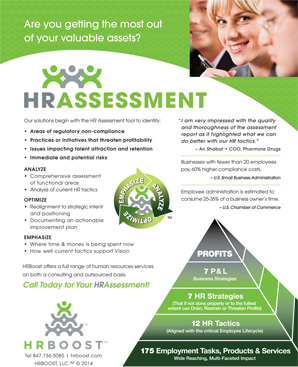 HRBoost Assessment Flyer