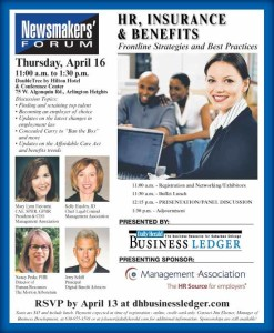 Join HRBoost and the SBAC at the Newsmakers' Forum on HR